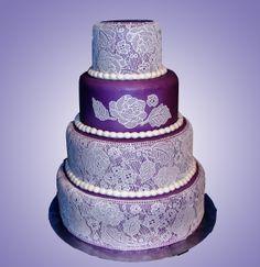 Round Wedding Cakes - sugarveil wedding cake