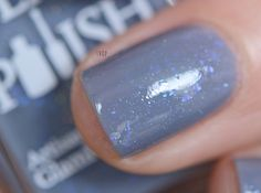 You keep me on my toes Glam Polish - Pirouette Flakies