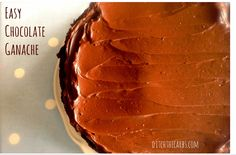 Easy Chocolate Ganache Recipe on Yummly. @yummly #recipe