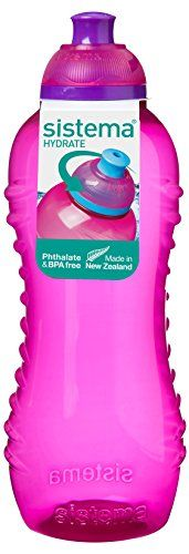 Sistema 802 - Botella de plástico, 460 ml, color rosa