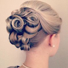 Wedding Hair - Formal Hairstyles: 10 Looks for Any Occasion | Beauty High -  This bun looks like a rose and is super cute and elegant for any formal event you have planned!  Image via ribbonsandbraids.com  ******