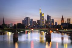 'Mainhattan' -- Frankfurt, Germany.
