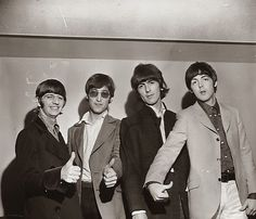 """""""The Beatles 50 Years Ago Today: August 1966 Coliseum, Seattle, USA The Beatles performed two shows at the Coliseum in Seattle on this day, at and on the date of their final tour. Les Beatles, John Lennon Beatles, Beatles Bible, Great Bands, Cool Bands, Lennon And Mccartney, Beatles Photos, The Fab Four, Yellow Submarine"""