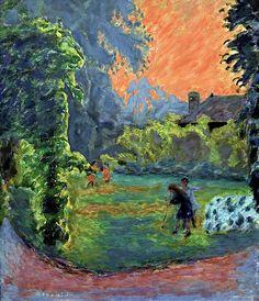 Pierre Bonnard - Soleil couchant, 1913