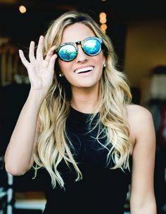 88e2a73f3e42 DIME - TORTOISE FRAME - BLUE MIRROR LENS - DIFF Eyewear - 4 Reflective  Sunglasses,