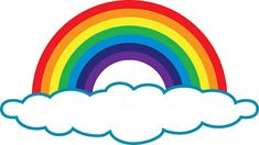 Peek-a-boo Desgins: Challenge 4# Rainbow with Clouds