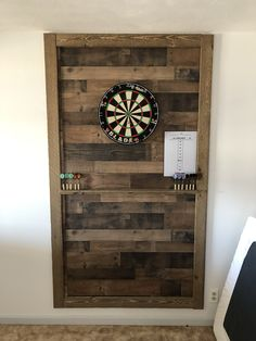 Paneling with wood trim. You are in the right place about cheap basement remodel Here we offer you the most beautiful pictures about the cheap basement remod Cheap Basement Remodel, Basement Makeover, Basement Remodeling, 1x4 Wood, Wood Trim, Wall Wood, Dart Board Backboard, Home Bar Rooms, Game Room Basement