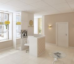 Art beauty salon my-interiors Nail Salon Design, Salon Interior Design, Beauty Spa, Beauty Room, Beauty Salon Decor, Nail Designer, Clinic Design, Spa Design, Spa Rooms