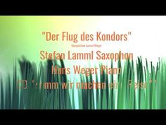 """Der Flug des Kondors"" Relaxing Music-Coffee Music-Saxophon mit Piano Saxman Stefan Lamml - YouTube"