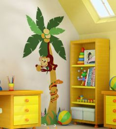 This is so cute. I wanted to do something like this in Brentley's room, before the theme changed to pooh.