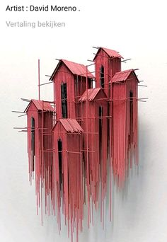 New architectural sculptures by David Moreno appear as three-dimensional drawing. - New architectural sculptures by David Moreno appear as three-dimensional drawings – Architecture - Cultural Architecture, Architecture Art, Installation Architecture, Spanish Architecture, Sculpture Ornementale, Sculpture Ideas, Art Sculptures, Architectural Sculpture, Architectural Models