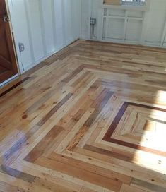 DIY Pallet Projects & Ideas | Pallet Floor | Amazing Do It Yourself Projects Made With Wooden Pallets | Living Room, Bedroom, Indoor and Outdoor, Kitchen, Patio. Coffee Table, Couch, Dining Tables, Shelves, Racks and Benches http://www.thrillbites.com/35-diy-pallet-projects-ideas