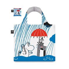 Eco carrybag Moomin Raining - The Official Moomin Shop Christmas Wishlist 2016, Moomin Shop, Tove Jansson, Second Hand, Duvet Cover Sets, Have Fun, Rain, Reusable Tote Bags, Songs