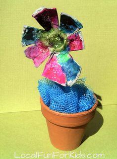 Recycled Egg Carton FlowerCraft - Home - LocalFunForKids, Best Blogs for Local Fun, Easy Crafts, Activities, Motherhood