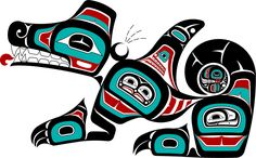 """Nathaniel P. Wilkerson - Gitxsan Artist - Wasco Gallery""  The Wasco is a Haida symbol you don't see very often. I first ran into it in a gallery that featured Haida art. I was told that it symbolizes Justice. It is probably my favorite Haida image."