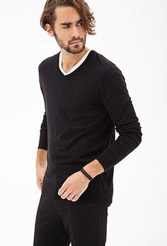 Lightweight V-Neck Sweater   21 MEN - 2000122404