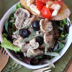 Insalata di pollo grigliato #italianfood #recipes #chicken #salad #light
