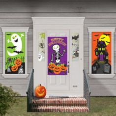 cute halloween decorations 33pc party citycute halloween decorations 33pc includes 3 posters 32