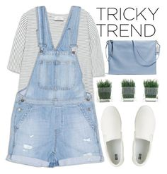 """""""Shortalls - Polyvore Contest"""" by evangeline-lily ❤ liked on Polyvore featuring Zara, Dricoper, Uniqlo and TrickyTrend"""