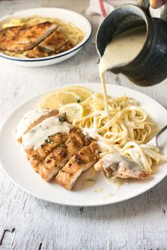 Creamy Lemon Chicken - All made in one skillet, and on the table in about 15 minutes! | RecipeTin Eats