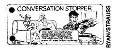 """Conversation Stoppers"" from The Village Voice, 1986"