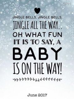 Kerst zwangerschaps aankondiging / Christmas pregnancy announcement// keep in mind for the future Christmas Pregnancy Reveal, Christmas Baby Announcement, Pregnancy Quotes, Baby Quotes, Pregnancy Care, Pregnancy Announcement To Parents, Reveal Pregnancy To Husband, Vogue Kids, Baby On The Way