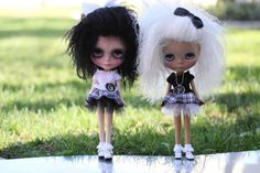 Black and White PARTY DRESS for Blythe by BlytheFifthAvenue, $22.00