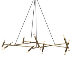 Buy JBS Le Diamant Chandelier from Jonathan Browning Studios on Dering Hall