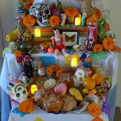 Build your very own Day of the Dead altar   Spoonful