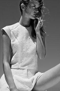 Bassike dress #minimalist #fashion #style