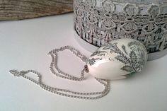 Easter egg romantic easter romantic egg by agnieszkamalik on Etsy #handmade  #necklace