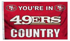 San Francisco 49ers Flag 3x5 Country