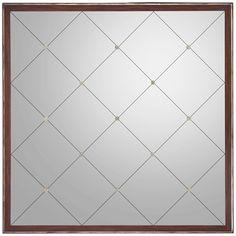 John Richard Como Square Mirror