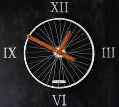 How-To: Bicycle Wheel Clock