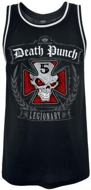 FIVE FINGER DEATH PUNCH PUNK ROCK HEAVY METAL TANK TOP MEN/'S SIZES