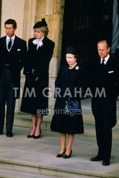 Charles & Diana attending the Funeral of The Duchess of Windsor if she never fell in love with Edward there would be no Queen Elizabeth the second. Such an important figure disliked by so many