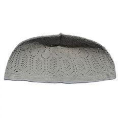 Turkish Muslim Islamic Winter Season Cap Handmade Velvet Black and Grey Muslim Kufi Hat Taqiya Takke Peci Rigid Prayer Cap
