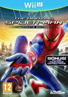 With just a few months left until Marc Webb's The Amazing Spider-Man swings into theaters, the official cover art for the tie-in Playstation 3 video game has now been unveiled. Xbox 360, Playstation, Wii U Games, Man Games, Amazing Spiderman, Spider Man's, Videogames, Spider Man Unlimited, Activision Blizzard