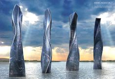 Dynamic Architecture - Rotating Towers by David Fisher