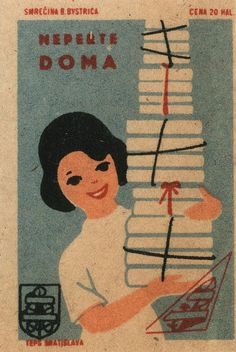 vintage eastern european matchboxes