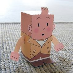a printable paper toy each day