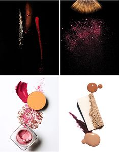 Love this cosmetic photography by Geoffrey Sokol. Make-up becomes art!