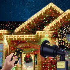 aostar christmas laser light waterproof led indoor outdoor laser motion light projector for home