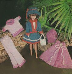 PDF Dolls Clothes Knitting Pattern : 12 Inch Dolly . Barbie . Sindy . Fashion Doll . Instant Digital Download by PDFKnittingCrochet on Etsy https://www.etsy.com/au/listing/472356008/pdf-dolls-clothes-knitting-pattern-12
