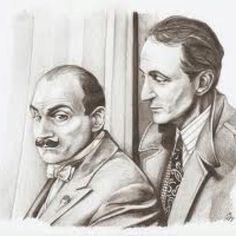 Hercule Poirot and Capt Hastings