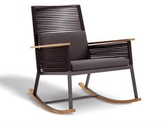 Rocking Chair With Armrests Rocking Chair Landscape Collection By KETTAL
