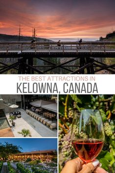 Kelowna B. is favoured vacation spot year-round thanks to its world-class vineyards great weather food scene beaches and even a couple of ski hills. From party boats to wine-infused spa treatments here's a guide for what to do in Banff, Quebec, Calgary, Things To Do In Kelowna, Ontario, Vancouver, Places To Travel, Places To Visit, Canadian Travel