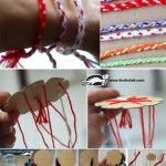Martenitsa Bracelet – the KUMIHIMO Technique    We're going to try this for Friday, March 1, at our house!