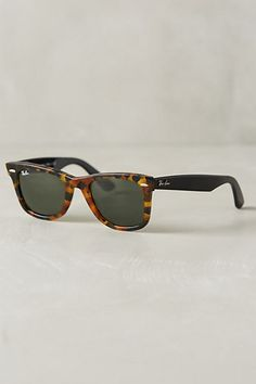 Ray-Ban Original Wayfarer Fleck Sunglasses #anthrofave #anthropologie.com