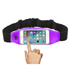 Revonk Waist Pack with Zipper for iPhone 6 6S 6 Plus 6S PlusPurple >>> Click image to review more details.(This is an Amazon affiliate link and I receive a commission for the sales)